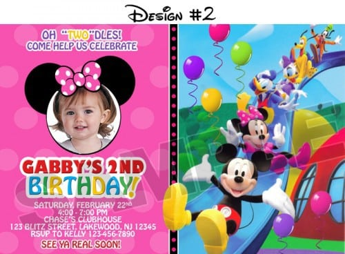 Mickey Mouse Clubhouse Invite 5