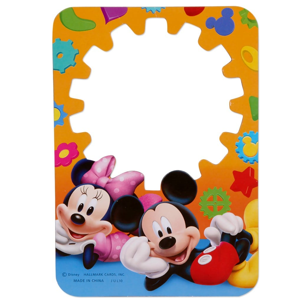Mickey Mouse Clubhouse Printable Invitation Template