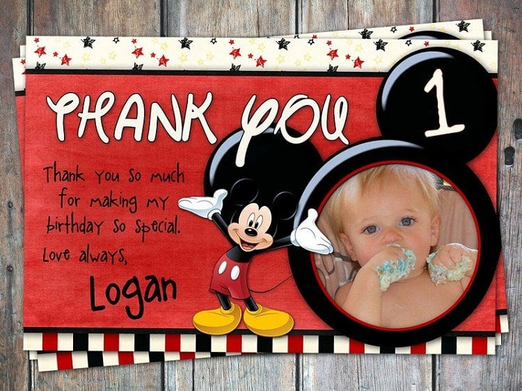 Mickey Mouse Clubhouse Ticket Invitations Free Template 3