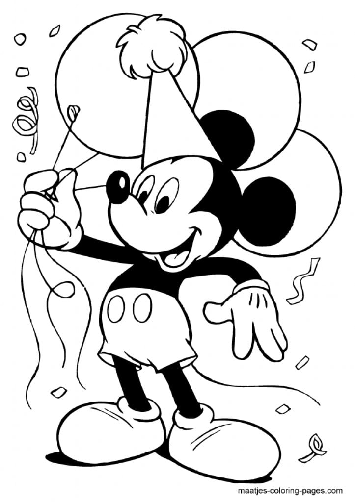 Micky Mouse Invite Printable Templates 2