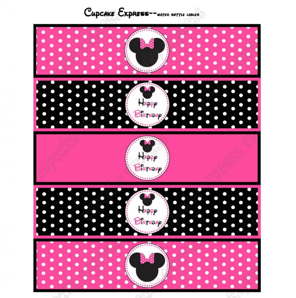 Minnie Mouse Birthday Invitations Free Printable
