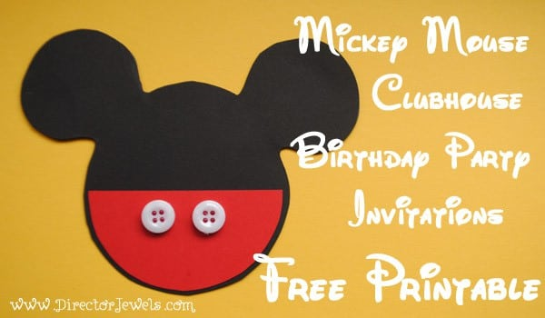 Minnie Mouse Birthday Invitations Free Templates 2