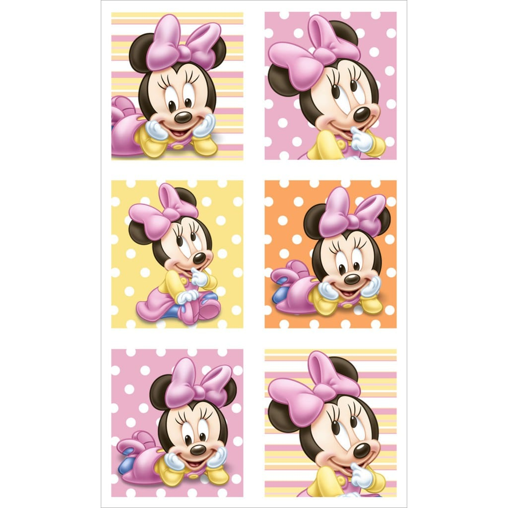 Minnie Mouse Birthday Invite Template