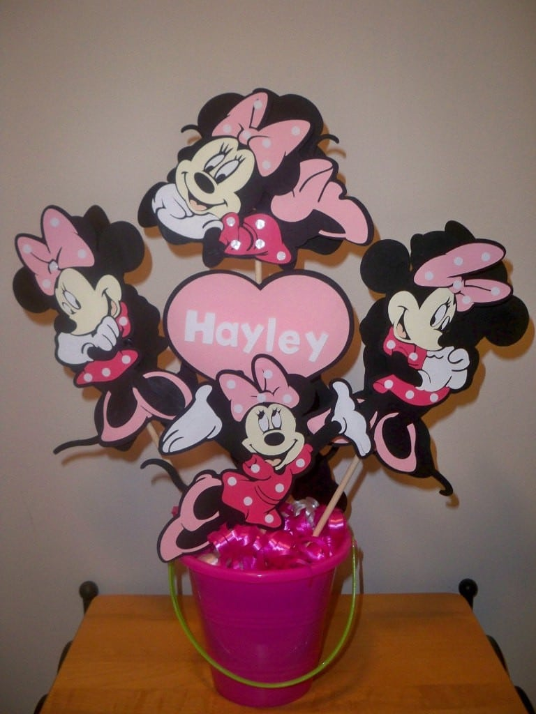 Minnie Mouse Birthday Invites 4