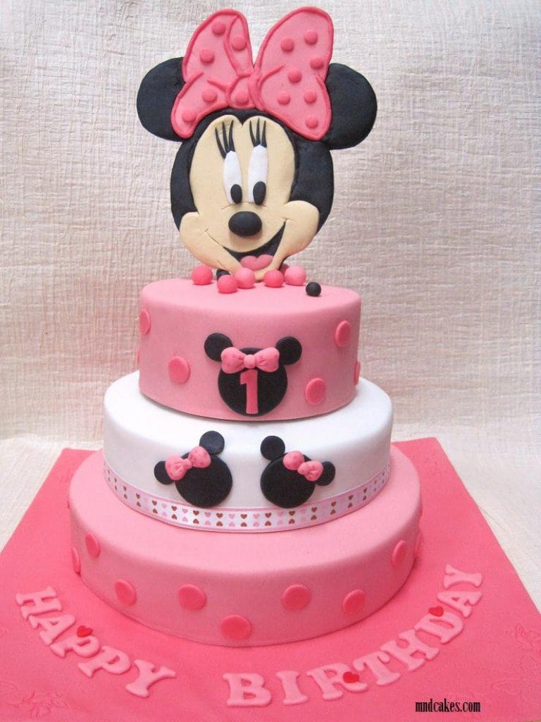 Minnie Mouse Christening Invitations 3