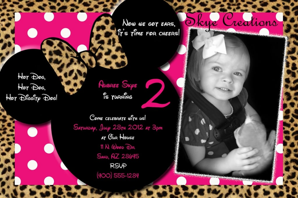 Minnie Mouse Head Invitation Template was best invitations ideas