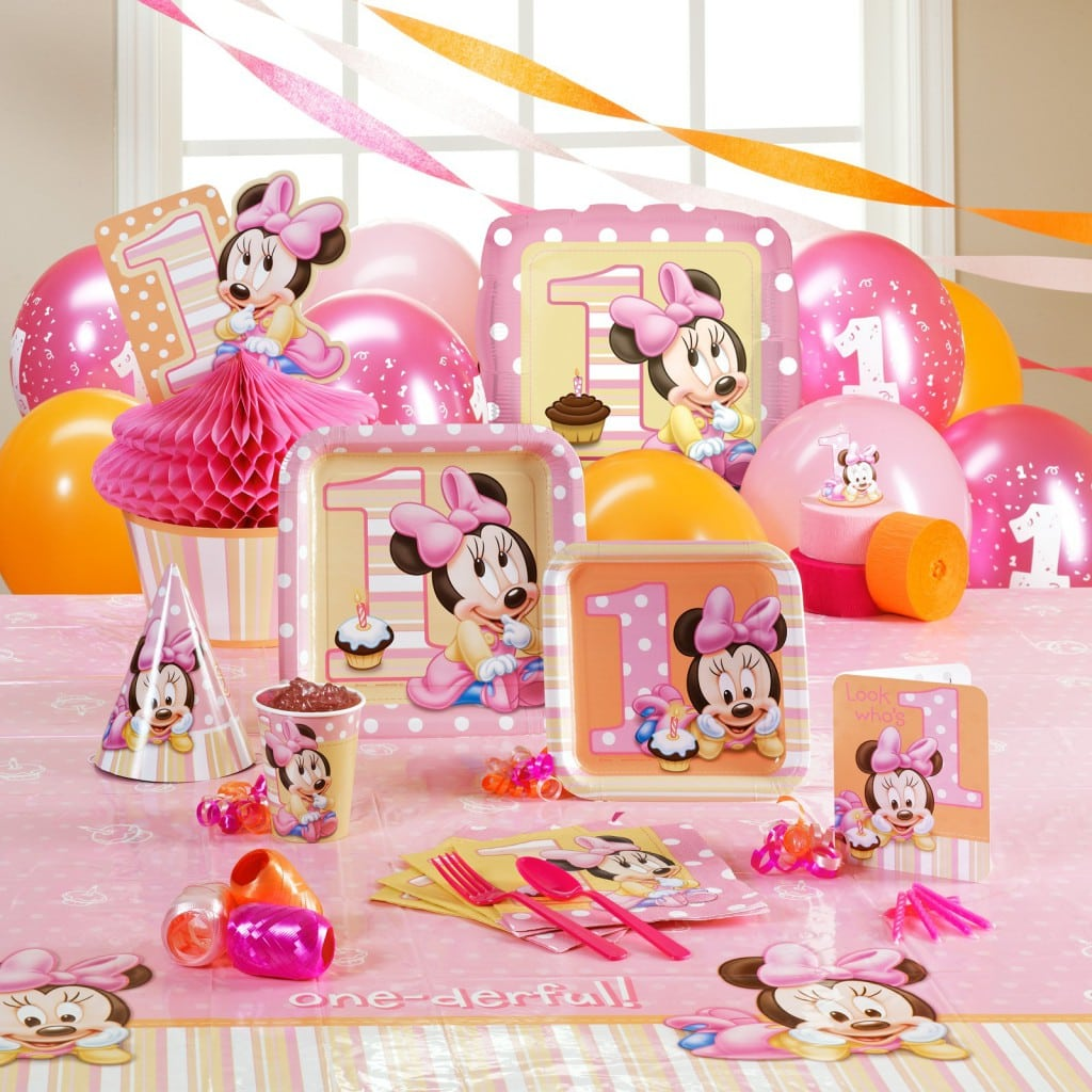Minnie Mouse Invites 1st Birthday 3