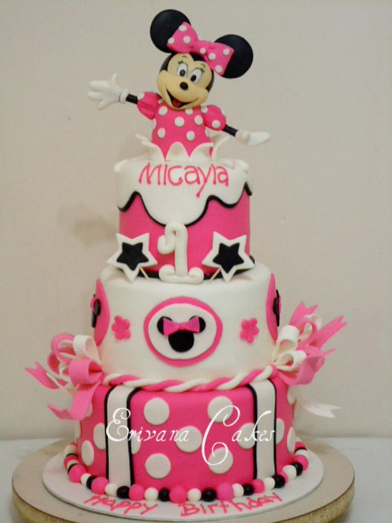 Minnie Mouse Invites 1st Birthday 5