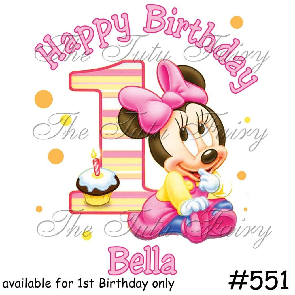Minnie Mouse Invites Templates 5