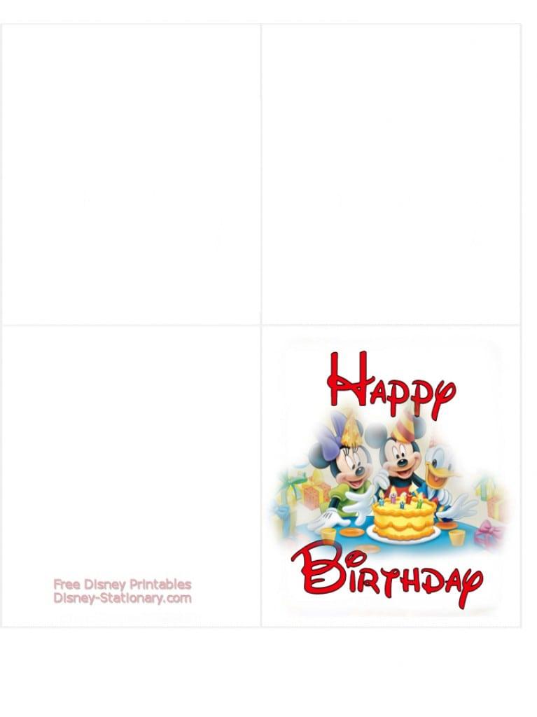Minnie Mouse Printable Birthday Invitations 2