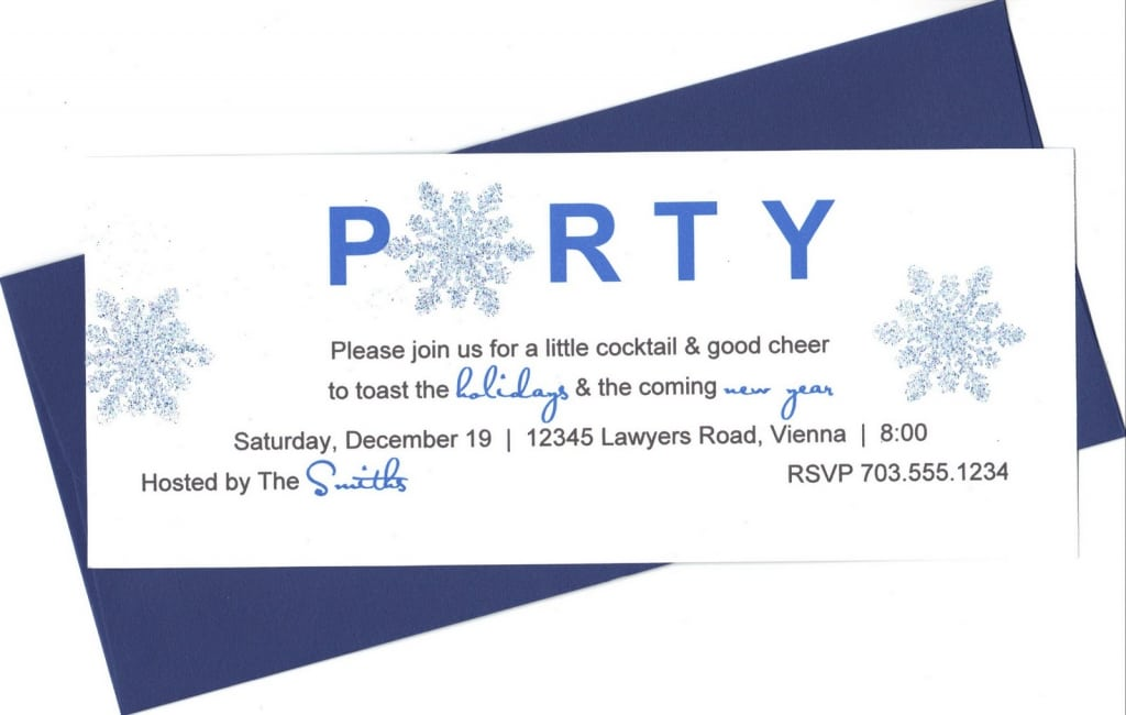 New Years Eve Party Invitation Wording Ideas
