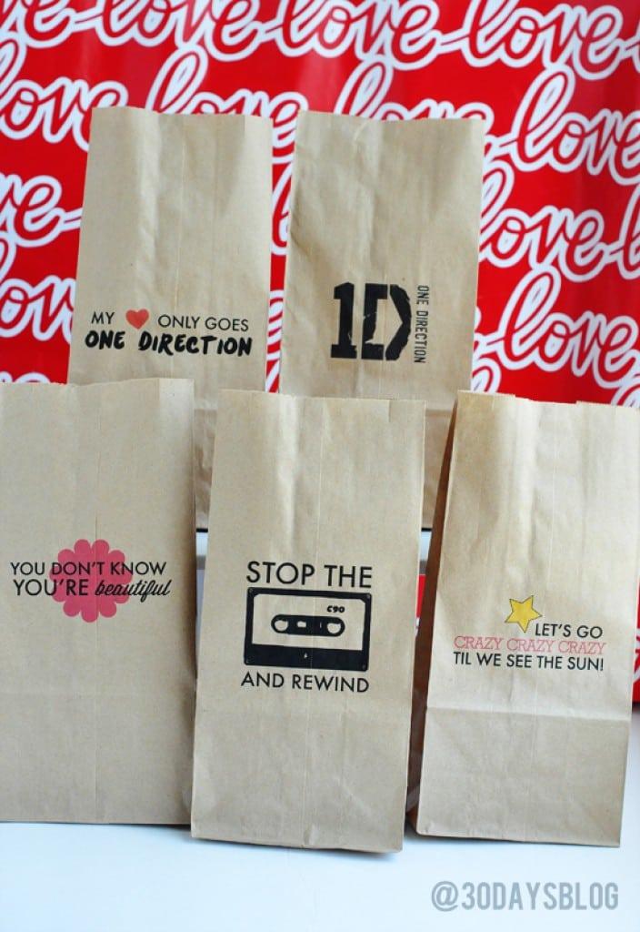 One Direction Printable Birthday Invitations 5