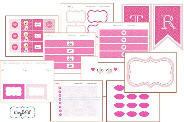 Pamper Party Invitations Templates Free Printable 4
