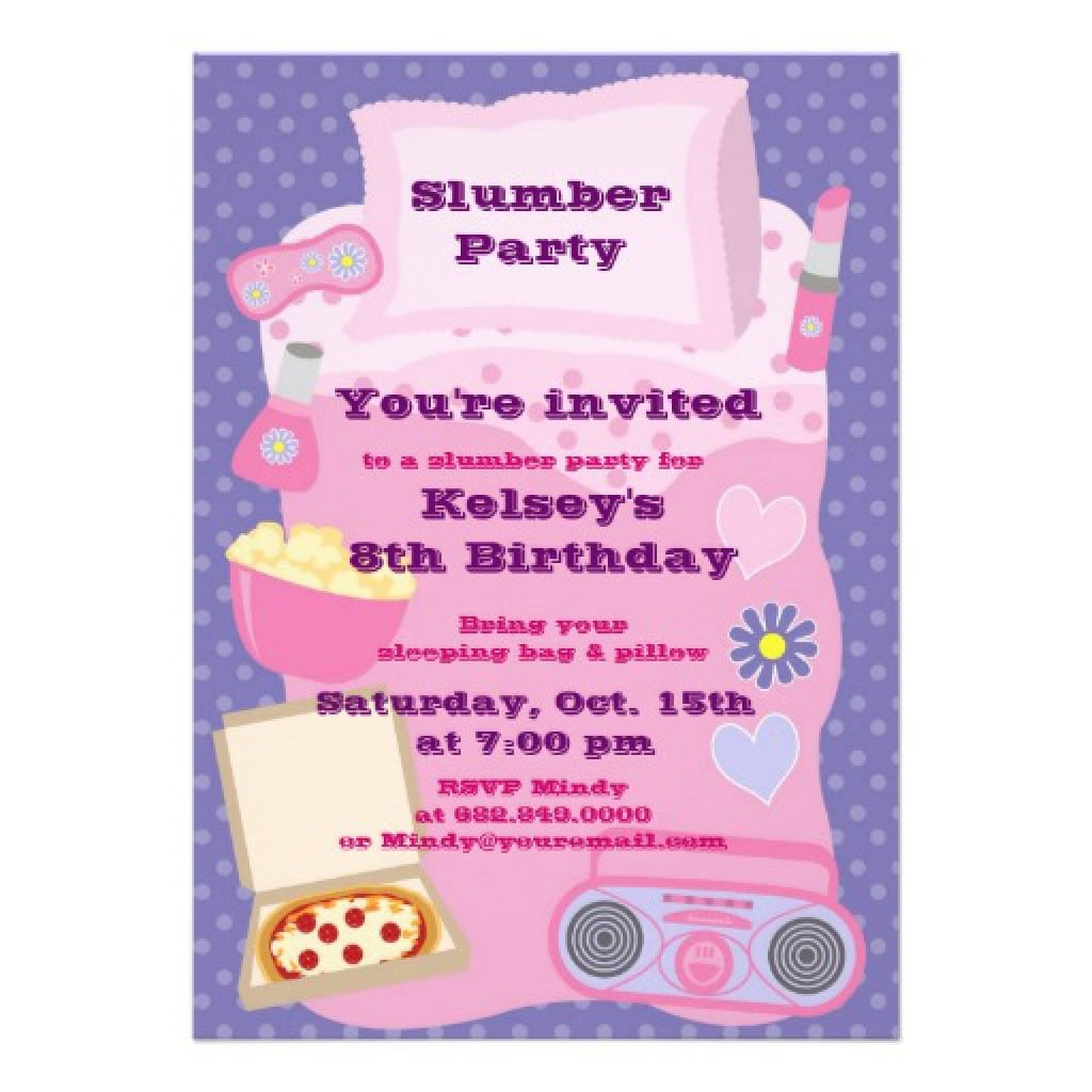 Party Invitations For Girls Teenage 4