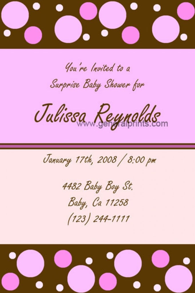 Party Invitations For Girls Teenage