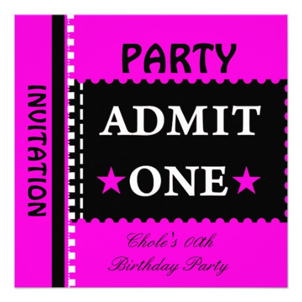 Party Invitations For Teenagers 2