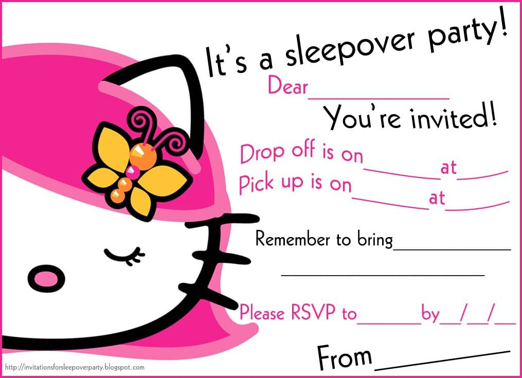 Party Invitations For Teenagers 3