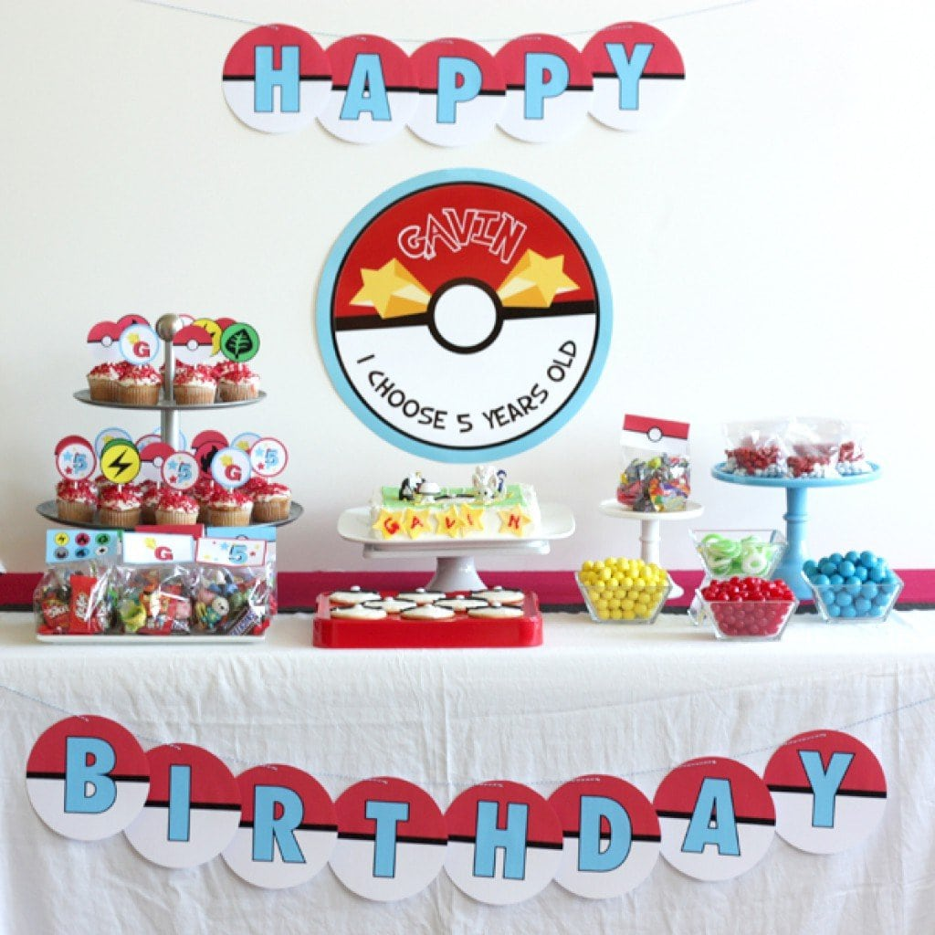 Pokemon Birthday Invitation Templates 2