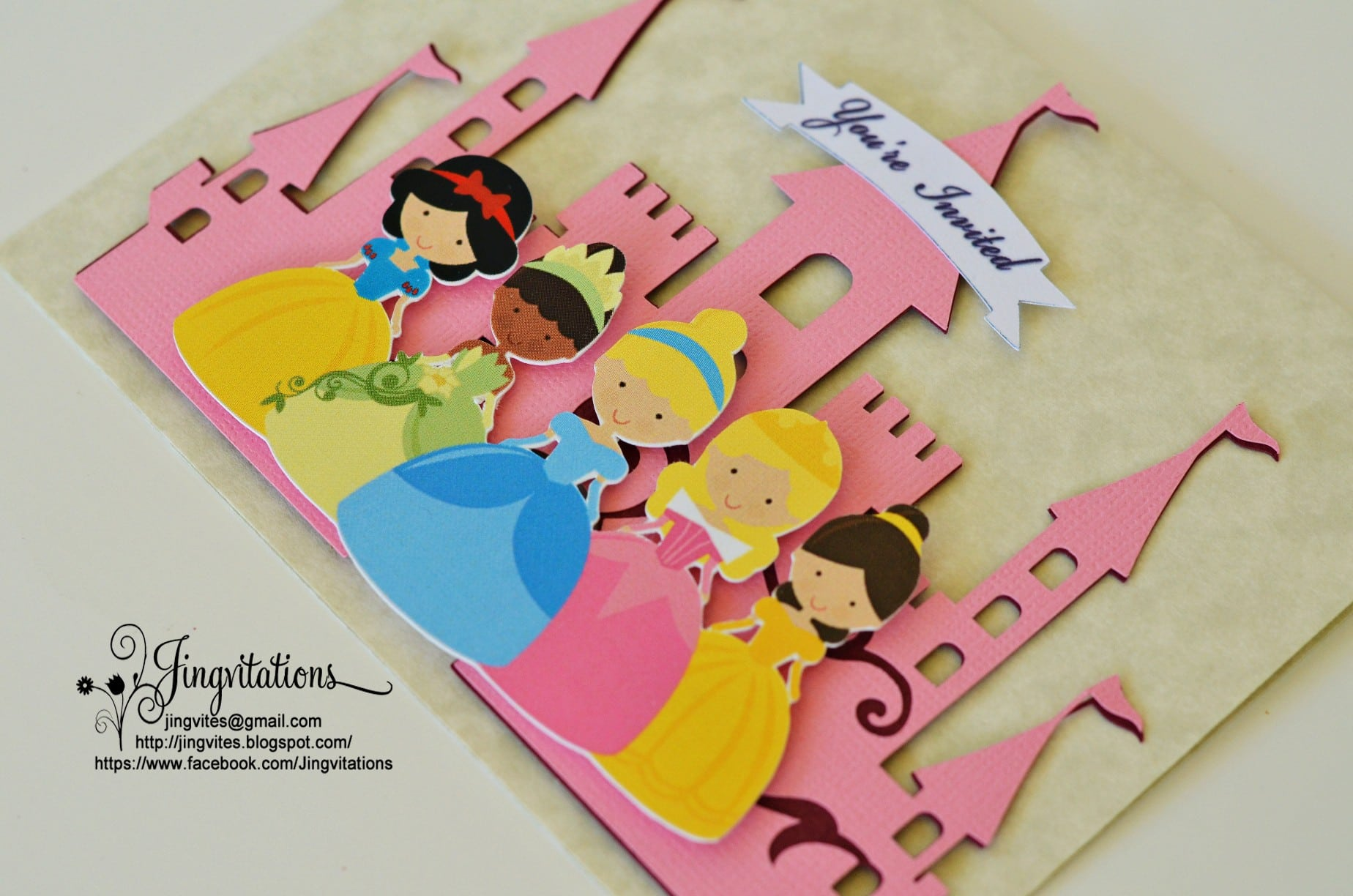 Princess Tiana Birthday Invitations Printable 3