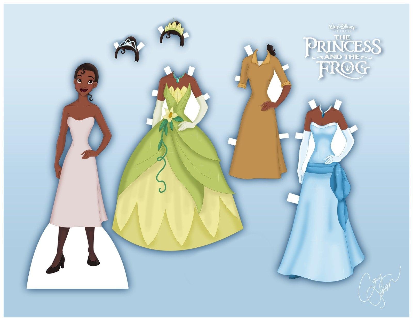 Princess Tiana Birthday Invitations Printable 5