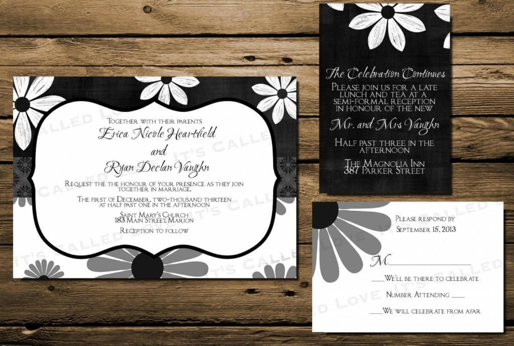 Print Directions For Invitations