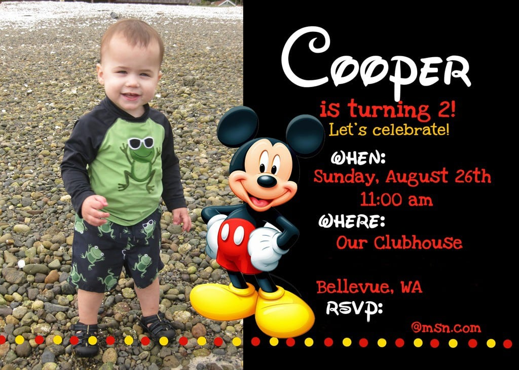 Printable 1st Birthday Invitations For Boys 2