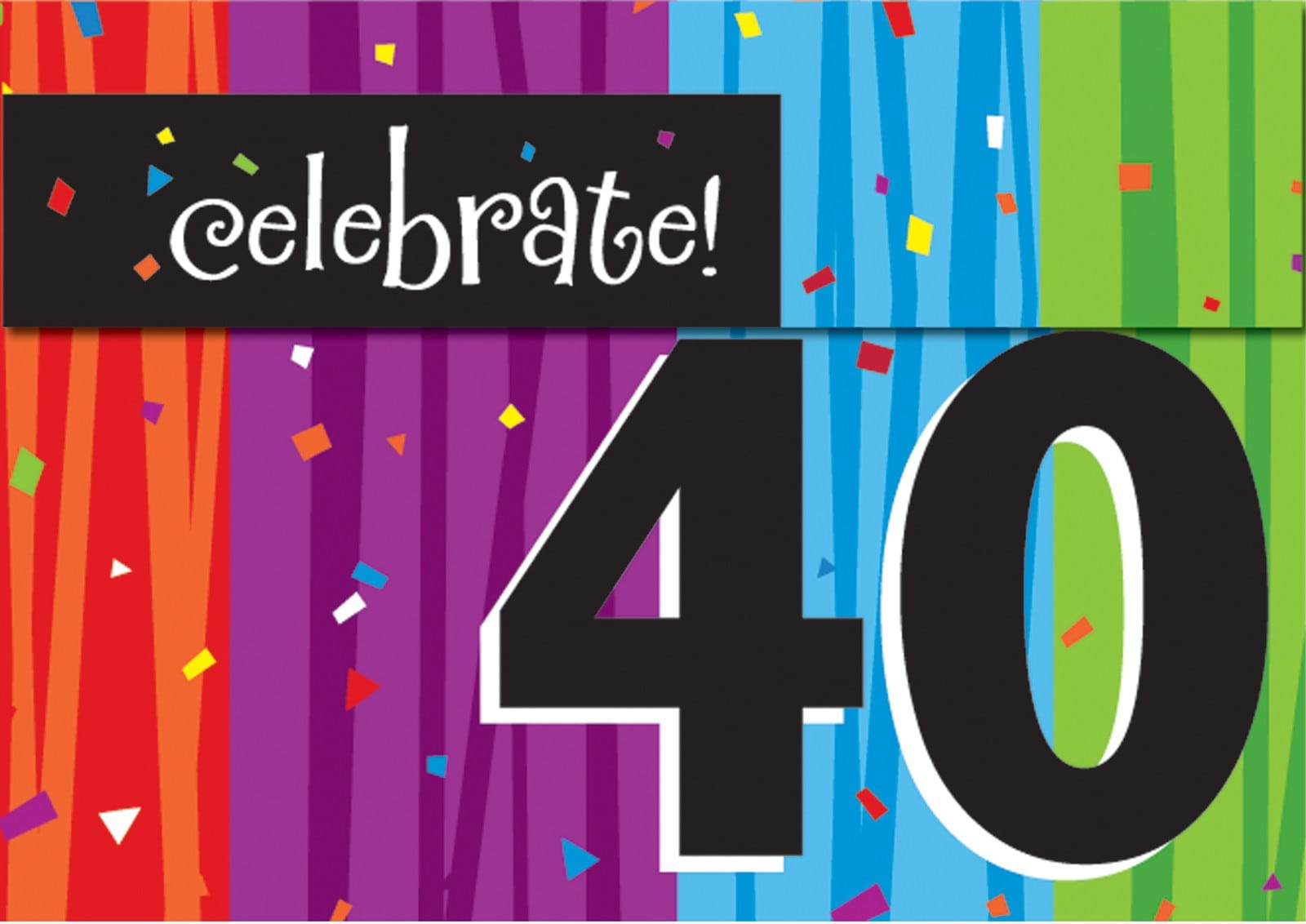 Printable 40th Birthday Invitations For Women