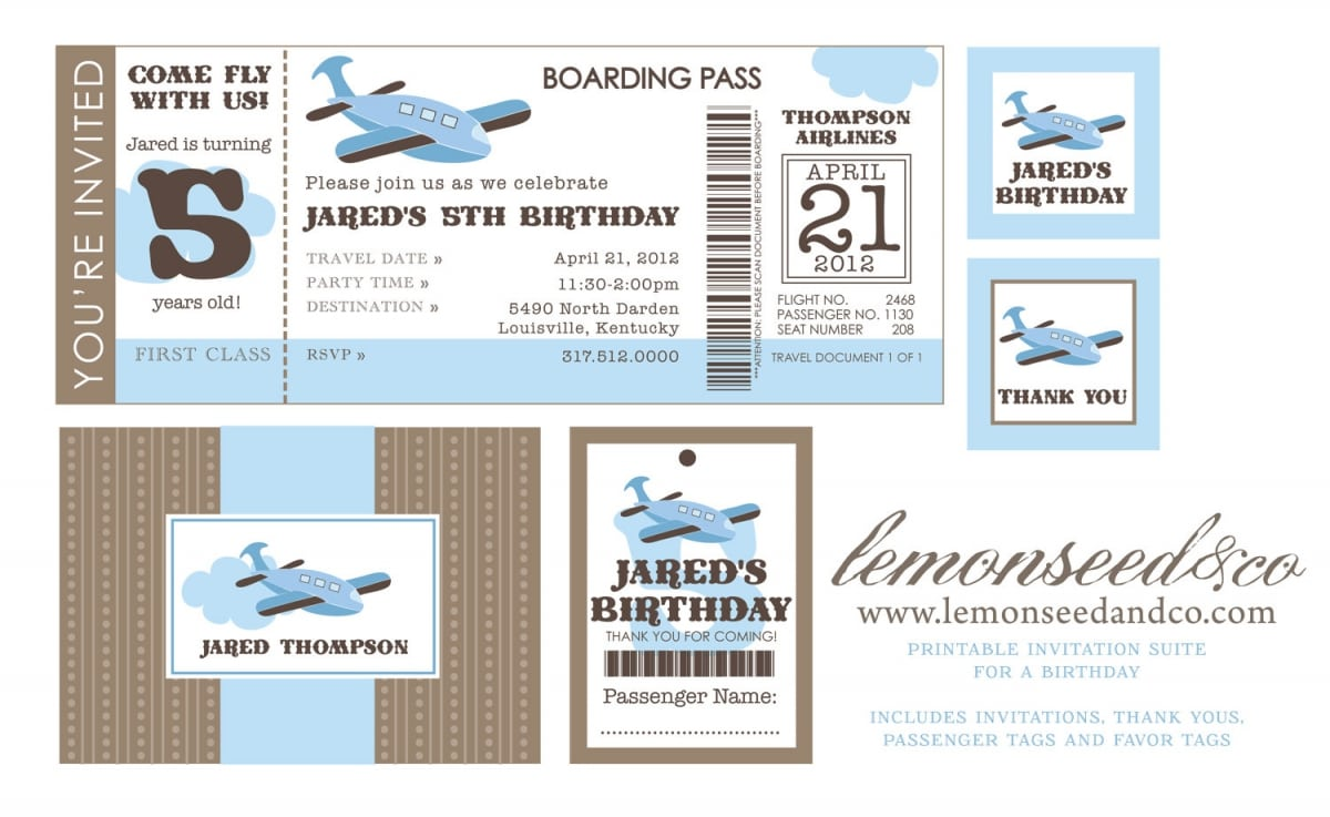 Printable Airline Ticket Invitation Template 400 X 245 640 X 393 1200 X 737  Airline Ticket Invitation