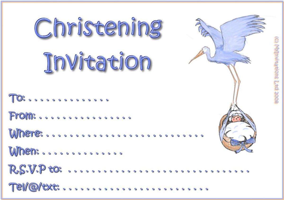 Cheap Baptism Invites for great invitations layout