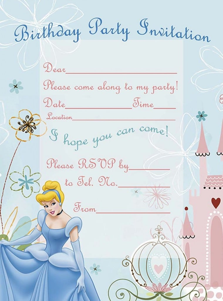 Printable Birthday Invitations For 11 Year Olds Girls 4