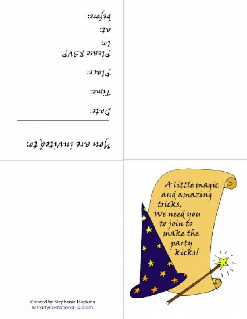 Printable Free Template Housewarming Party Invitations