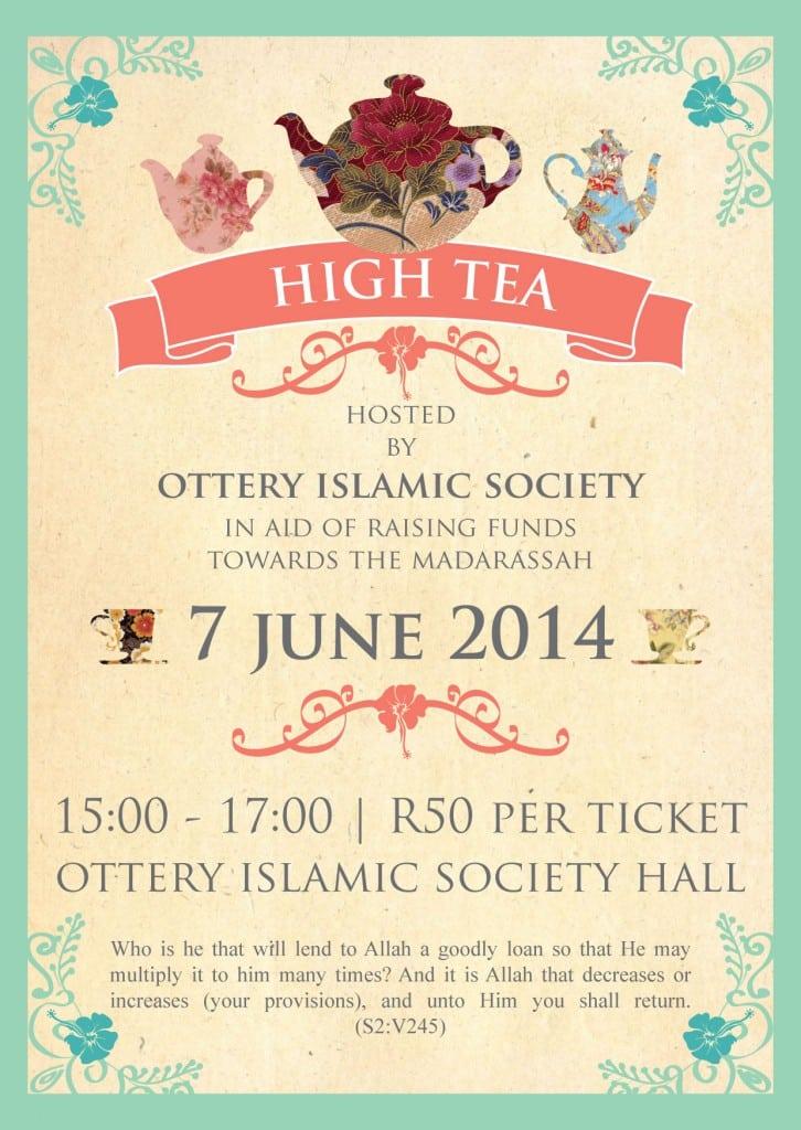 Free Printable High Tea Party Invitation – orderecigsjuice.info
