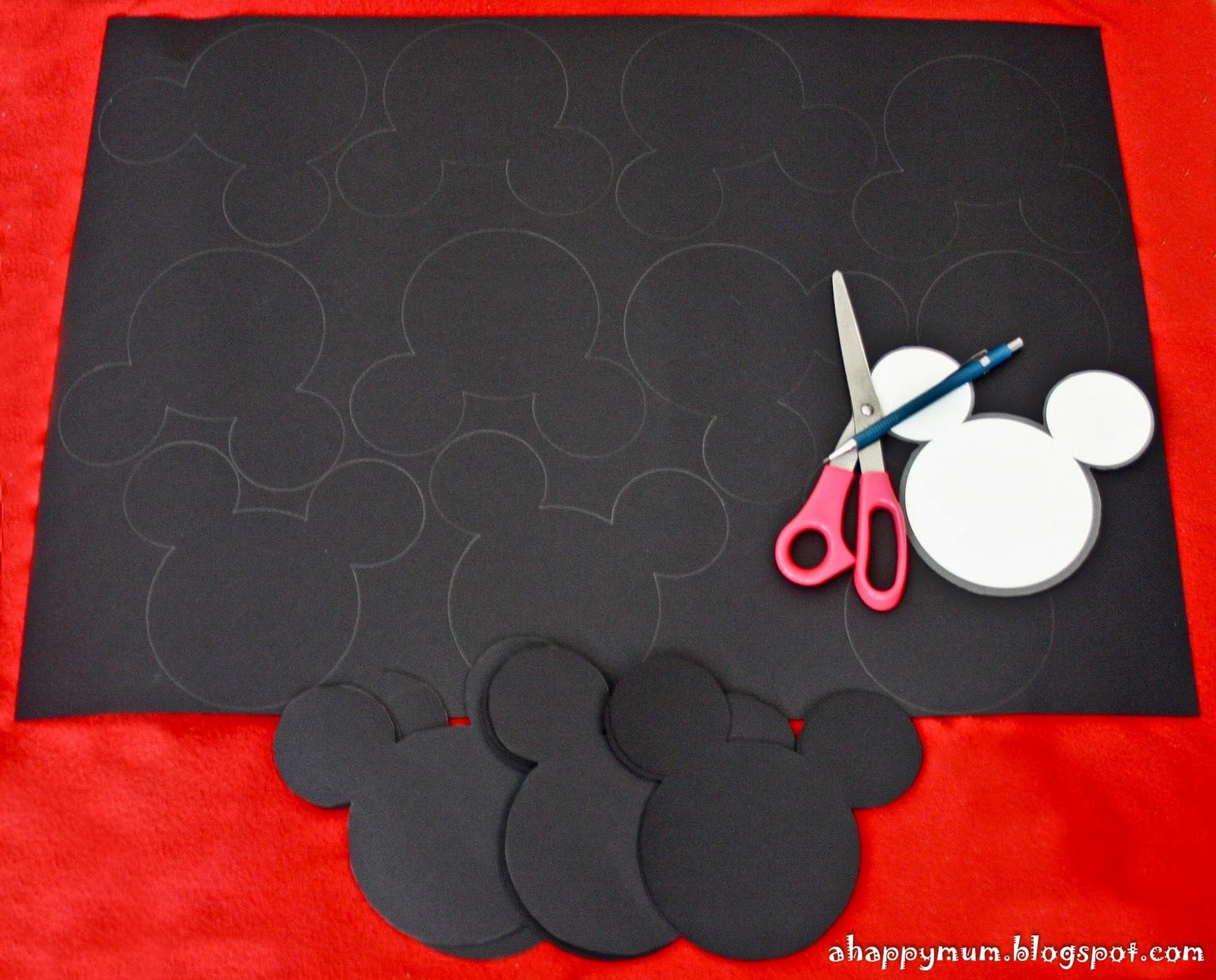 Printable Mickey Mouse Templates For Invitations 2