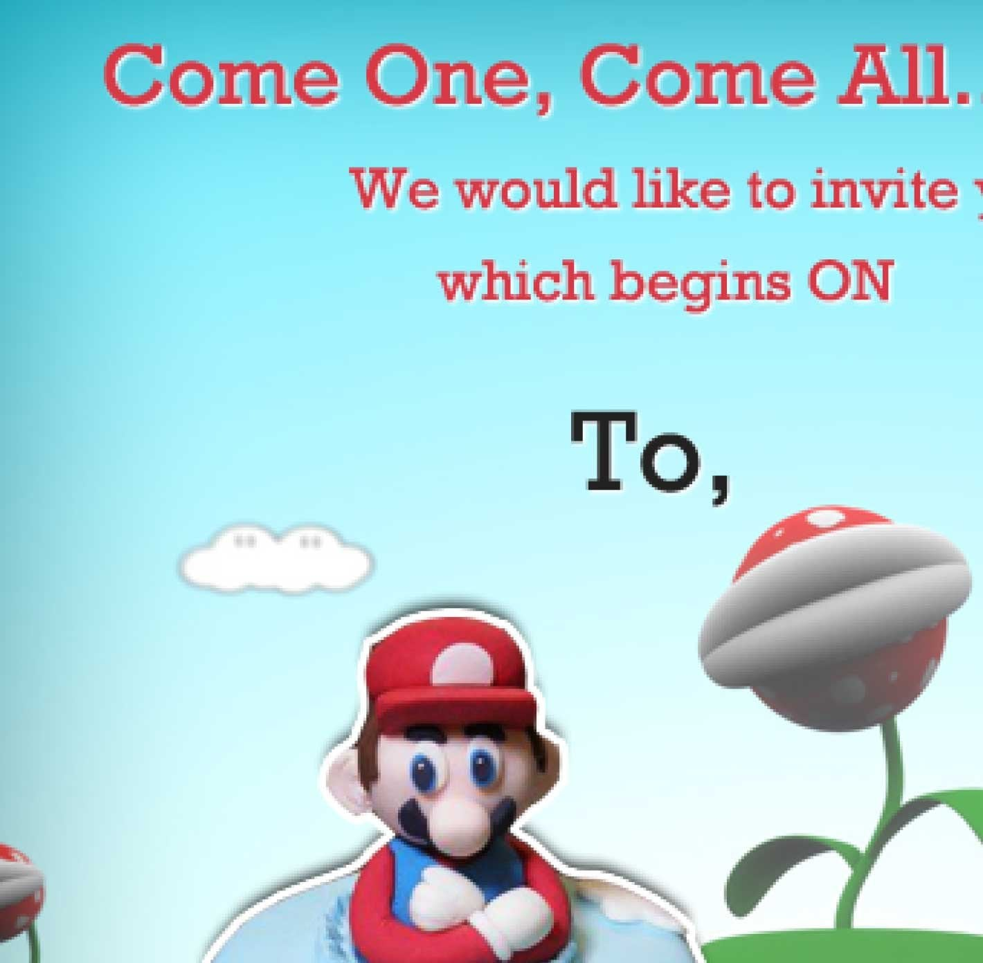 Printable Tea Party Invitations Free 2