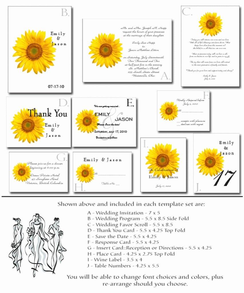 Printable Wedding Invitation Templates 3