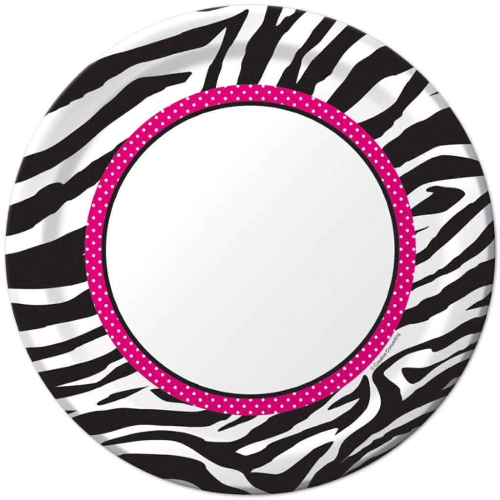 Printable Zebra Print Invitation Templates 2