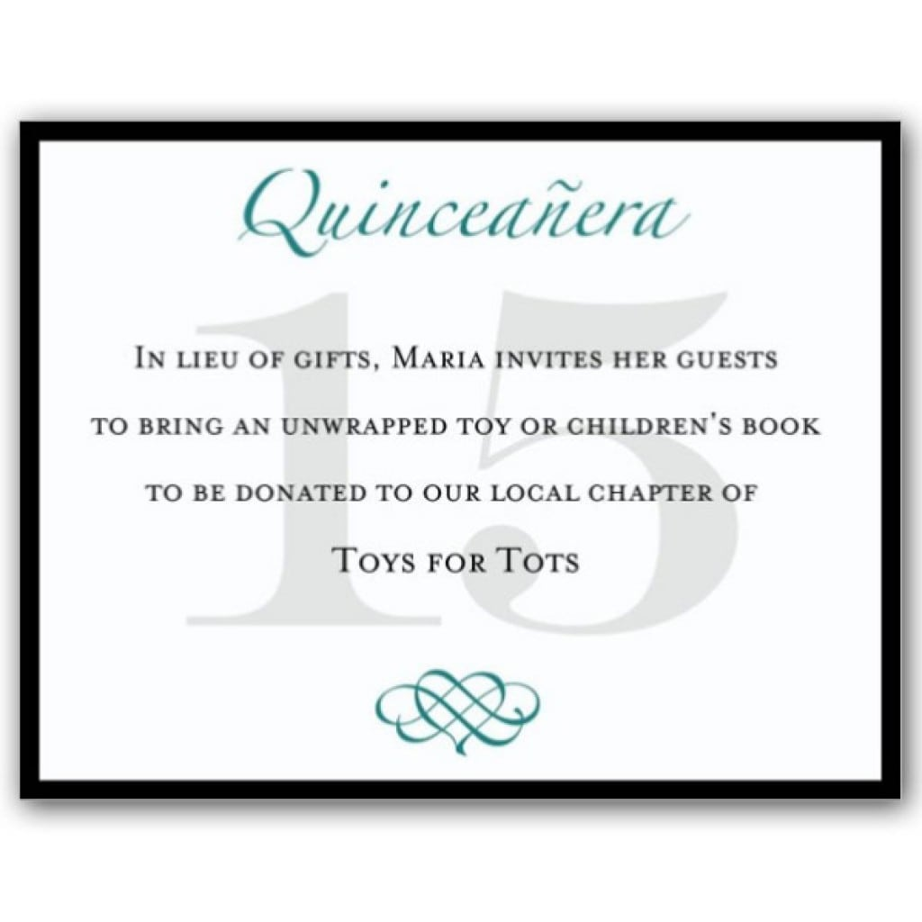 Quinceanera Invitations Templates For Free