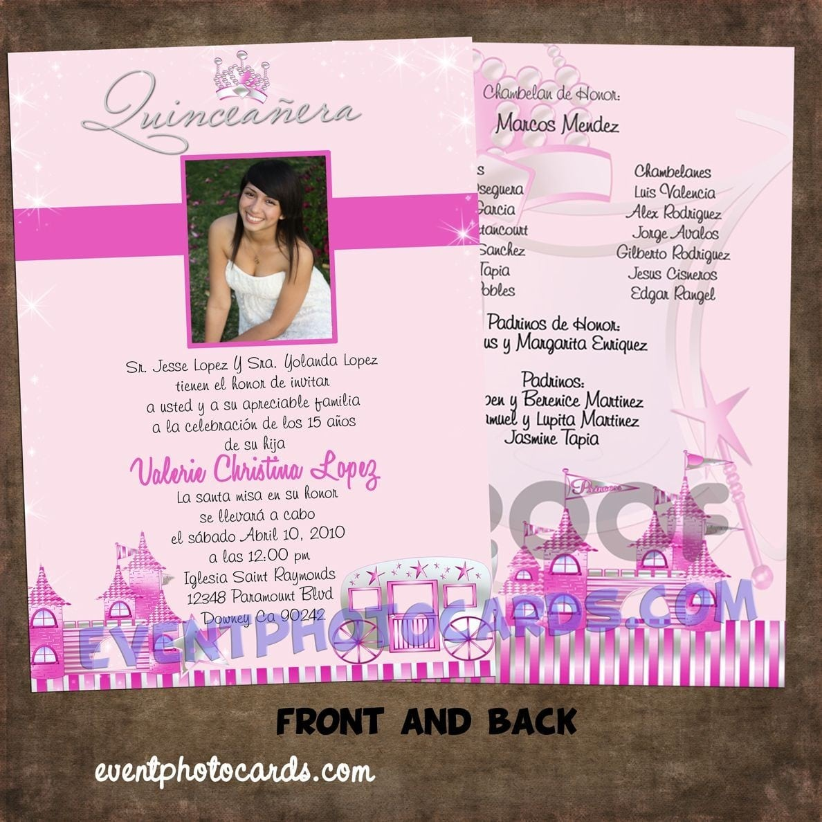 Quinceanera Invitation Templates can inspire you to create best invitation template