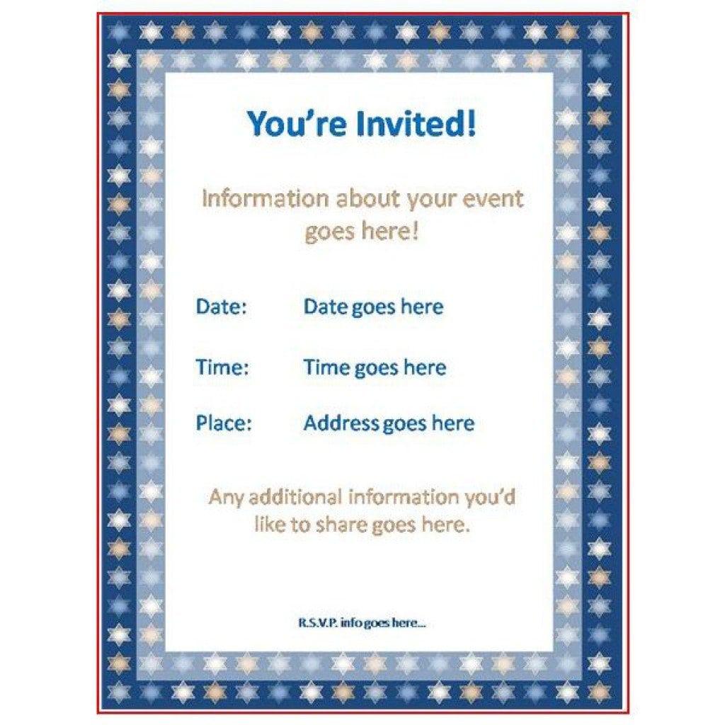 Ready To Use Housewarming Invitation Template 3