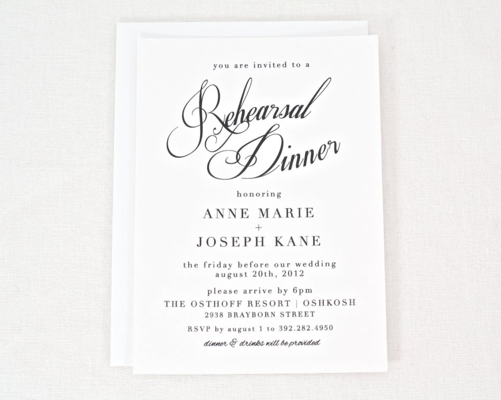 Dinner Invitation Email Template Email Invitation Templates Rehearsal  Dinner Invitations Templates