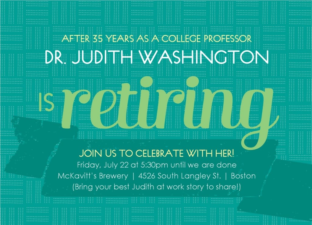 Retirement Invitations Templates Free