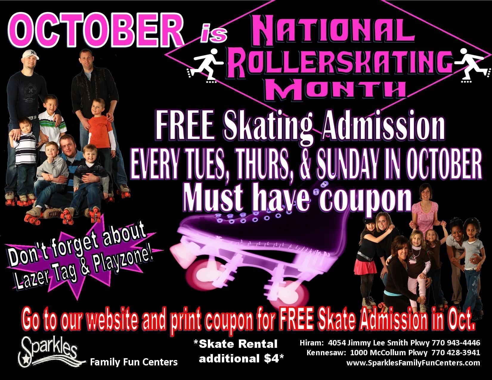 Roller Skating Invitations Free 2