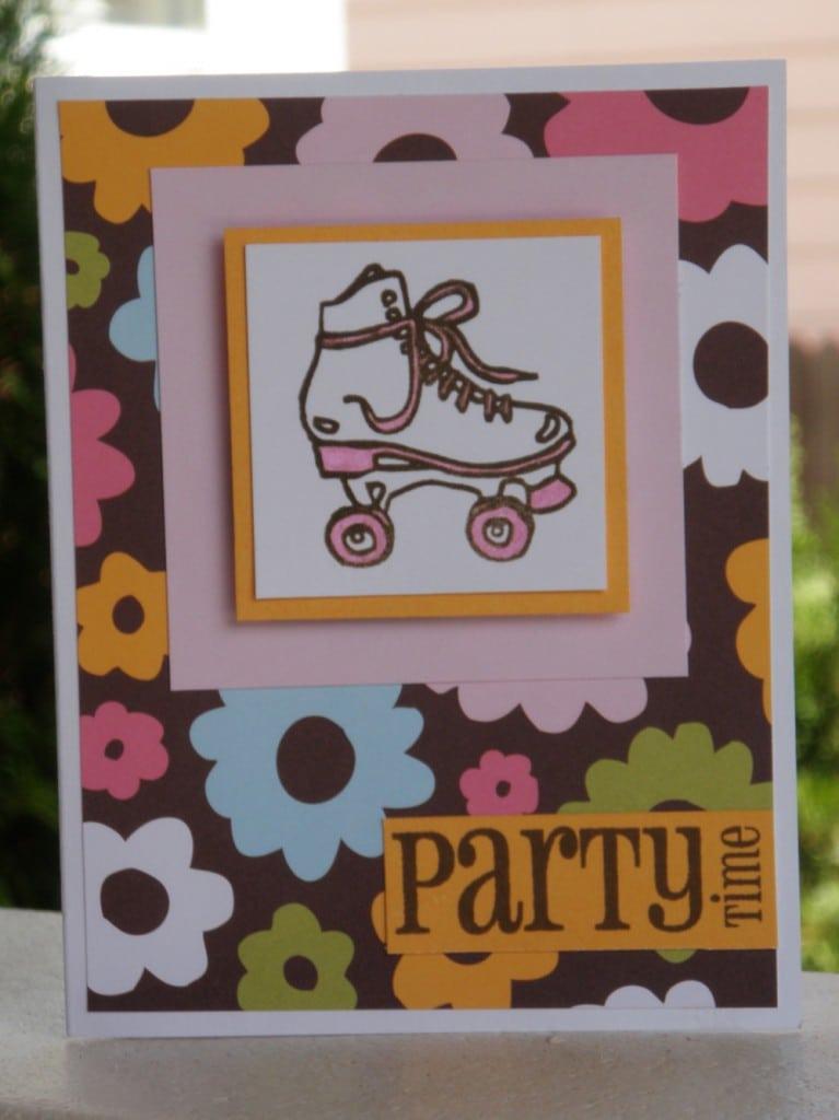 Roller Skating Invitations Free 5