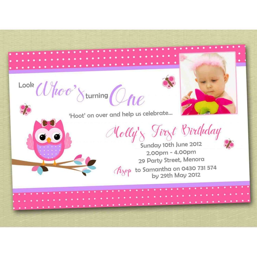 Sample Baptismal Invitation Templates 5