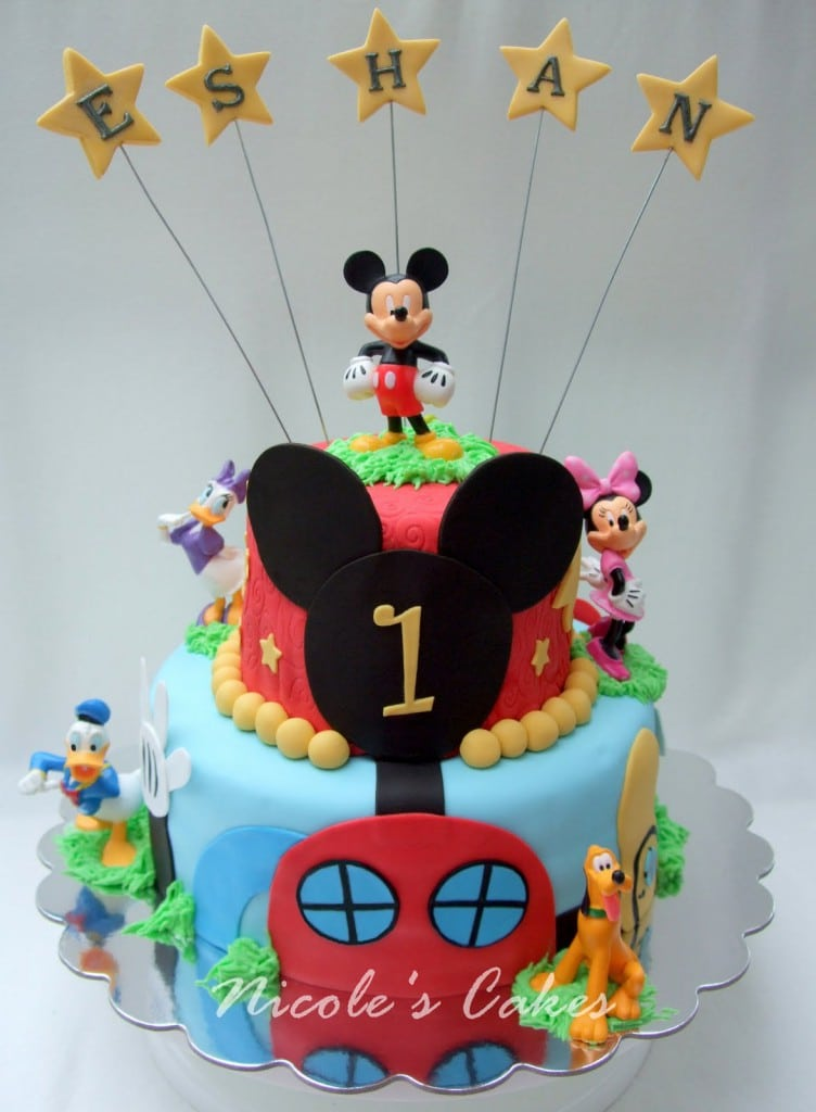 Sample Birthday Invitation Of Mickey Mouse