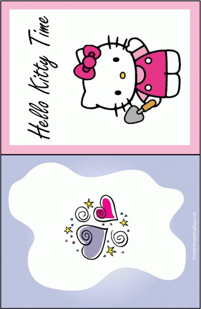 Sample Hello Kitty Party Invitations 5