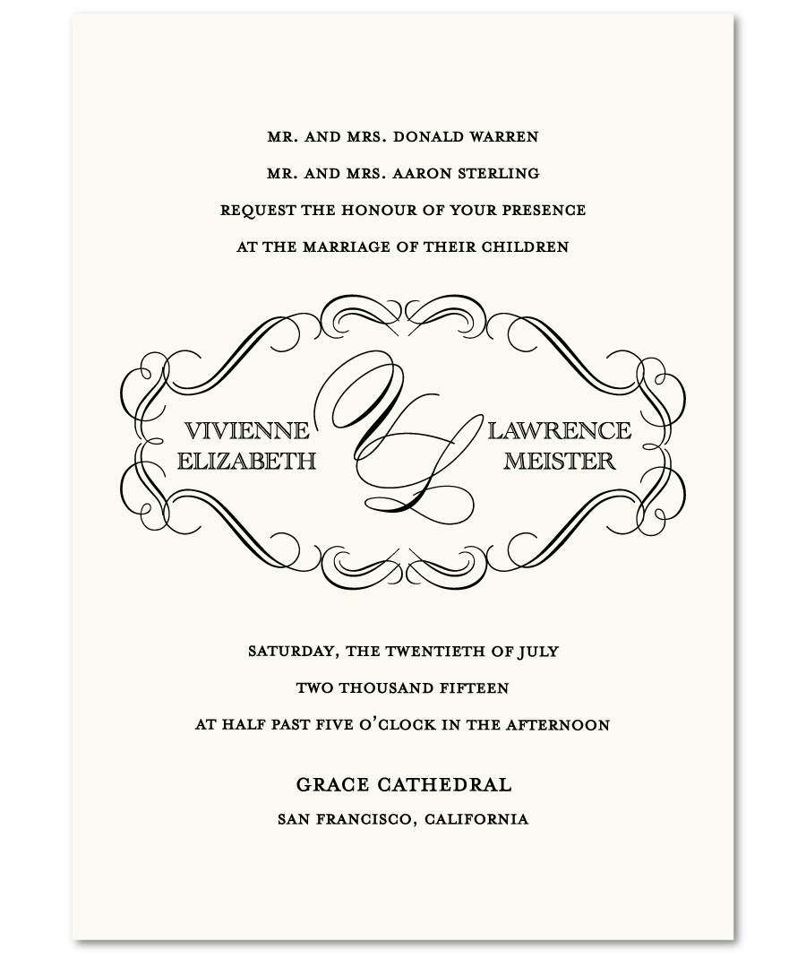 Sample Wedding Invitation Format receipt templates free show – Corporate Invitation Text