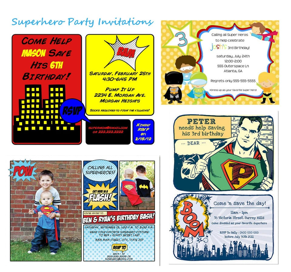 Party Invitations Free Printable
