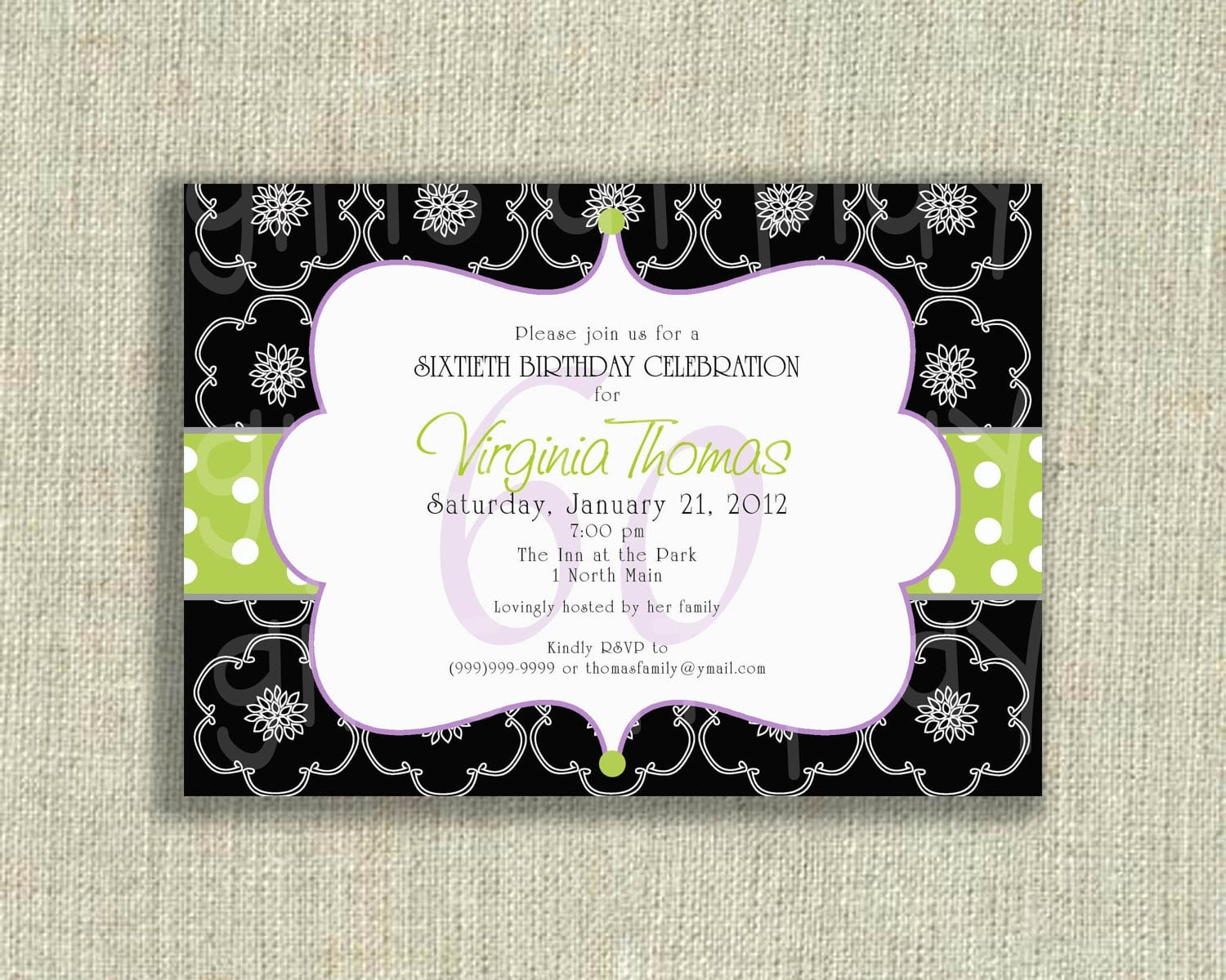 Surprise 18 Party Invitations