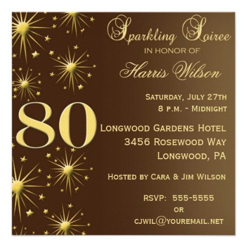 Surprise 60th Birthday Invitation Templates Free 5